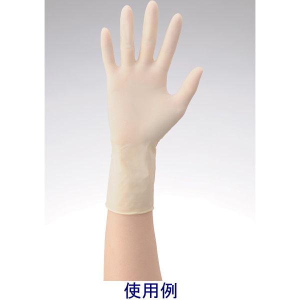 リーテック No360ラテックス手袋ノンパウダー指先エンボスL 1箱(100枚入) (使い捨て手袋)