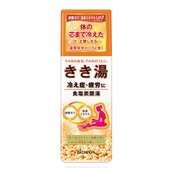 きき湯 食塩炭酸湯 360g