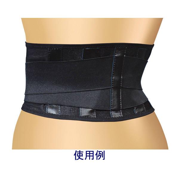 ミノウラ 山田式ブラック腰椎スリムコルセット LLサイズ (取寄品)