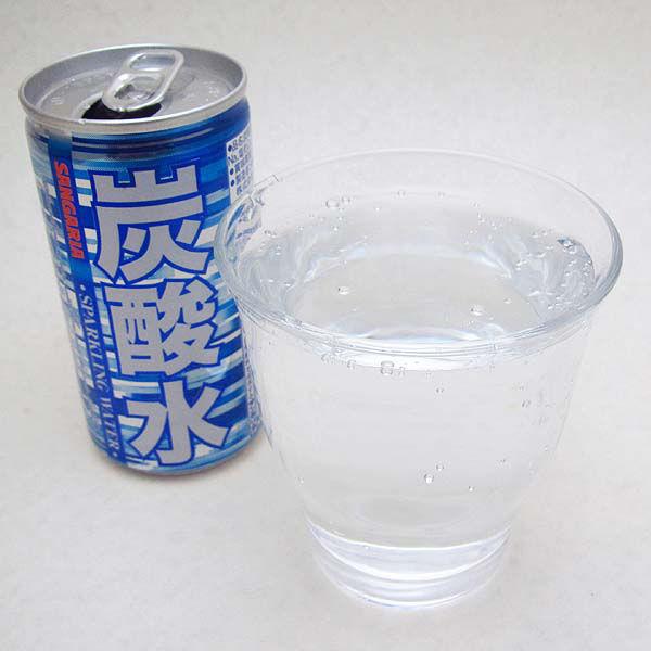 炭酸水 185ml缶30本入