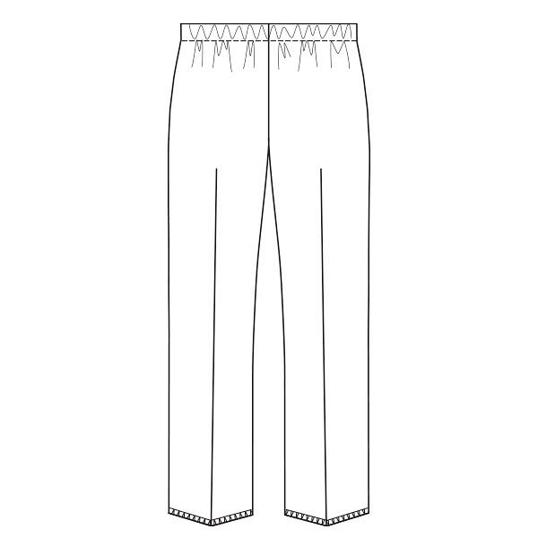 オンワード スクラブパンツ(女性用) PO2022 ホワイト S
