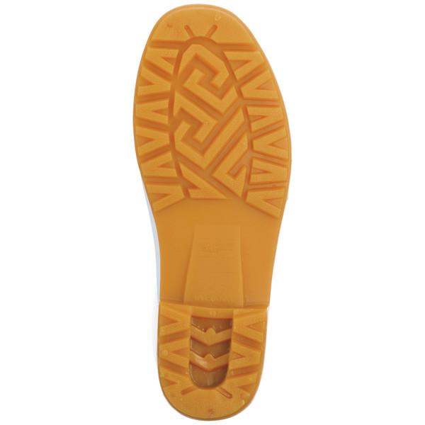 白長靴 25cm アスクル