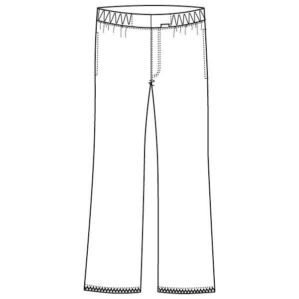 フォーク メンズパンツ ホワイト M 5015EW-1 (直送品)