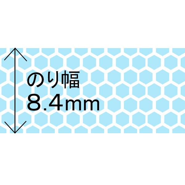 プラス テープのり スピンエコハニカム 16m 交換テープ ブルー 38487 1箱(30個入)