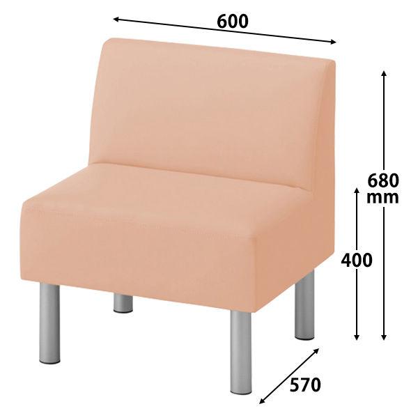 ロビーベンチ 幅600mm(背付)