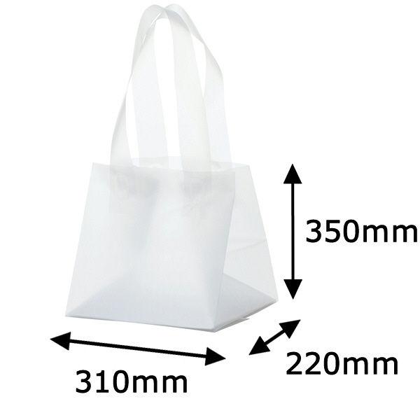 ギフトバッグ 半透明 M 30枚