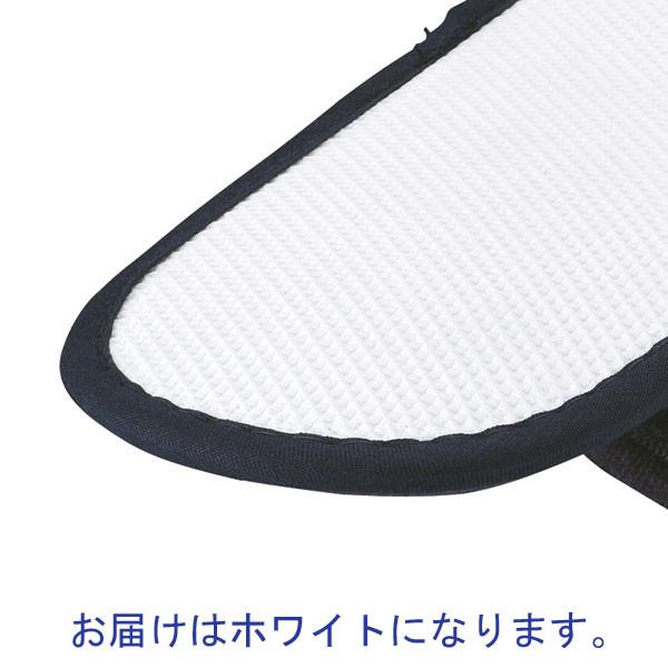 パイル携帯スリッパ不織布袋付WH 10足