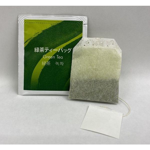 接客にぴったりの緑茶ティーバッグ
