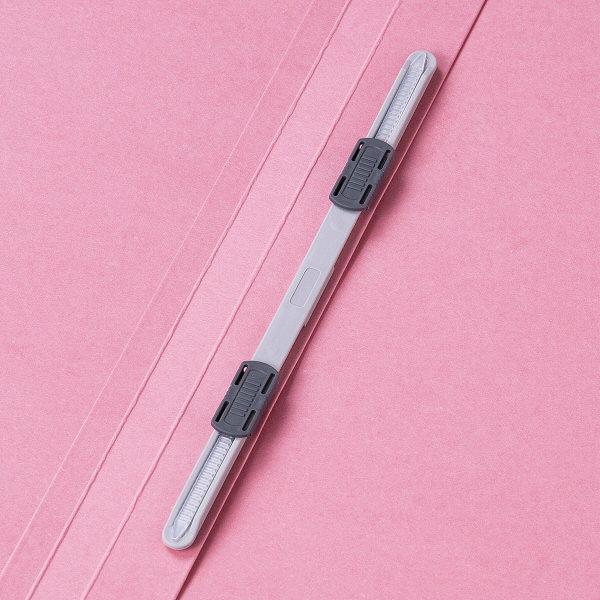 フラットファイル 上質表紙 A4タテ 10冊 ピンク アスクル
