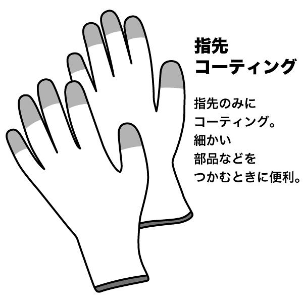 ショーワグローブ A0612 ESDプロテクトトップ手袋 Mサイズ A0612M