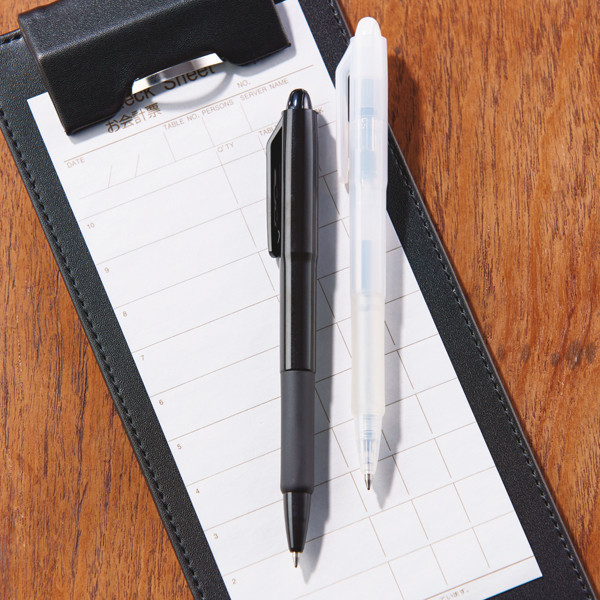 油性ボールペン ジムノック 0.7mm ネイビー軸 黒インク 10本 ゼブラ