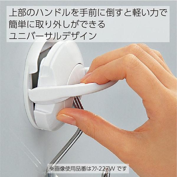 コクヨ 超強力マグネットフック<タフピタ>黒 フク-227D 1箱(5個入)
