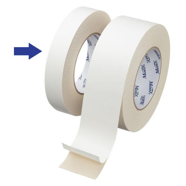 古藤工業 「現場のチカラ」 厚手布両面テープ 0.5mm厚 幅25mm×15m巻 1セット(10巻:1巻×10)