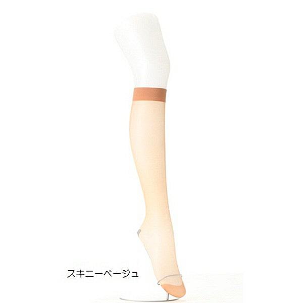 アツギ 膝下 スキニーベージュ22-25