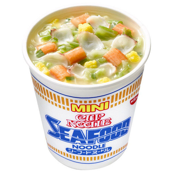 日清 カップヌードル シーフードミニ3食