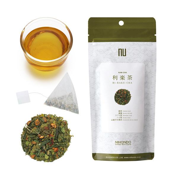 薬日本堂 利楽茶(健康茶 漢茶) 12個