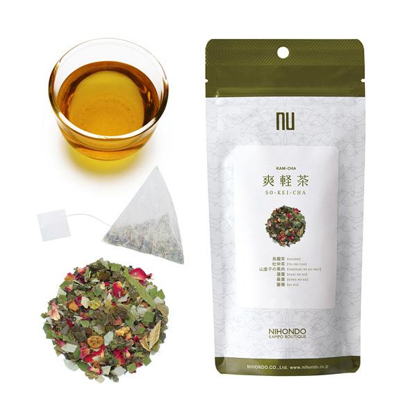 薬日本堂 爽軽茶(健康茶 漢茶) 12個
