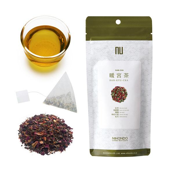 薬日本堂 暖宮茶(健康茶 漢茶) 12個