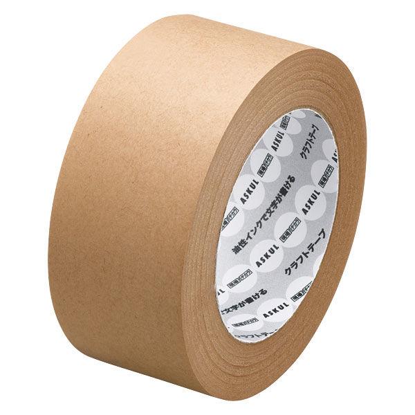 油性インクで文字が書けるクラフトテープ