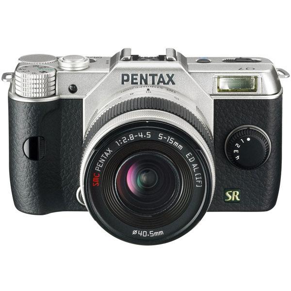 ペンタックス PENTAX Q7 LK S シルバー レンズキット