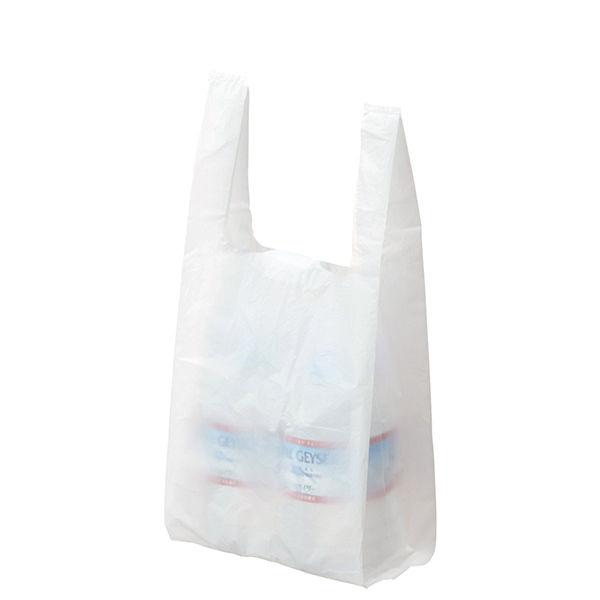 レジ袋 乳白 No.8 100枚