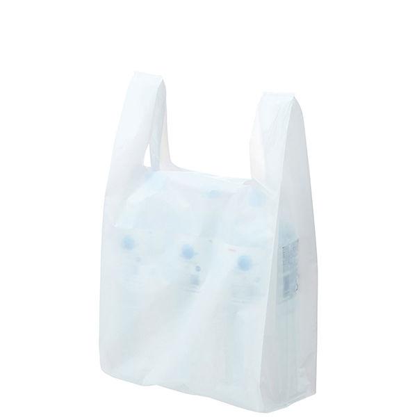レジ袋 乳白 No.45 100枚