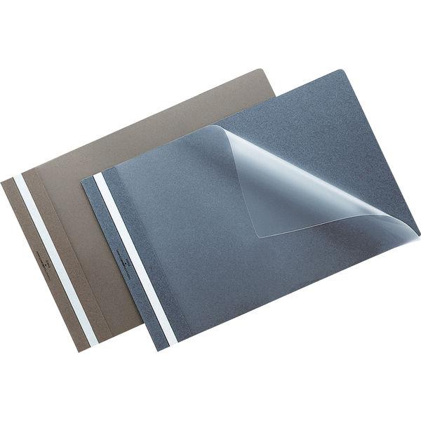 製本ファイル A4横 グレー 20冊