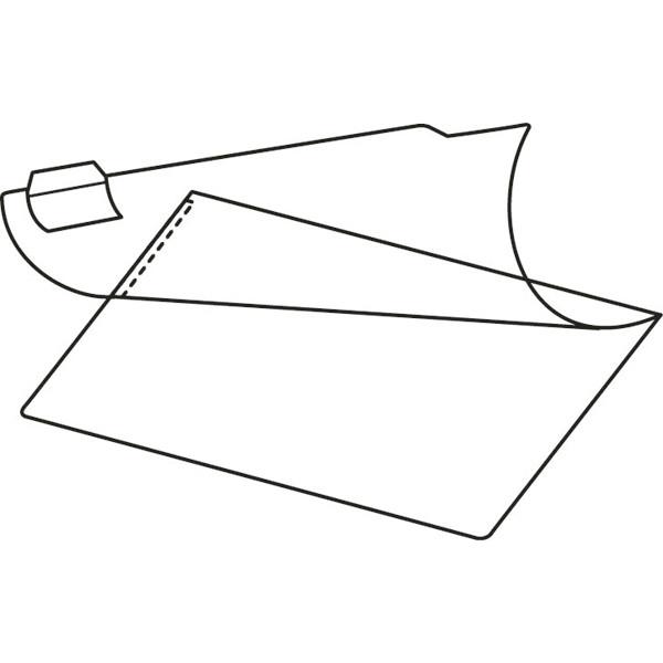 コクヨ 図面クリヤーホルダー Sタイプ インデックスラベル付 A2 セ-F57 1パック(10枚入)