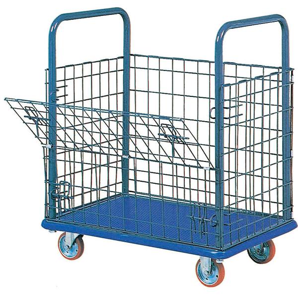 石川製作所 IKキャリー 金網台車(組立完成品) 150kg荷重 107 1セット(3台)