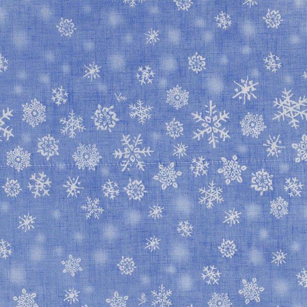 白雪友禅ふきん 雪の女王 アイスブルー