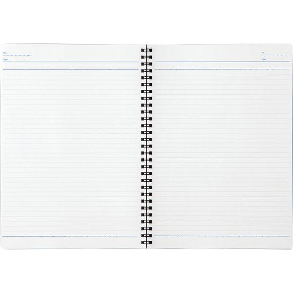 コクヨ キャンパスツインリングノート セミB5 40枚 赤 ス-T110BN-R 1パック(10冊入)