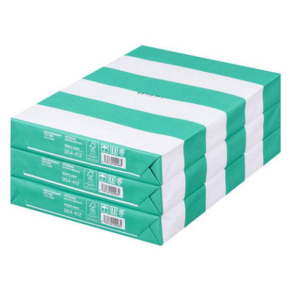 コピー用紙 マルチペーパー マイナス6% A4 1セット(1500枚:500枚入×3冊) 国内生産品 FSC認証 アスクル