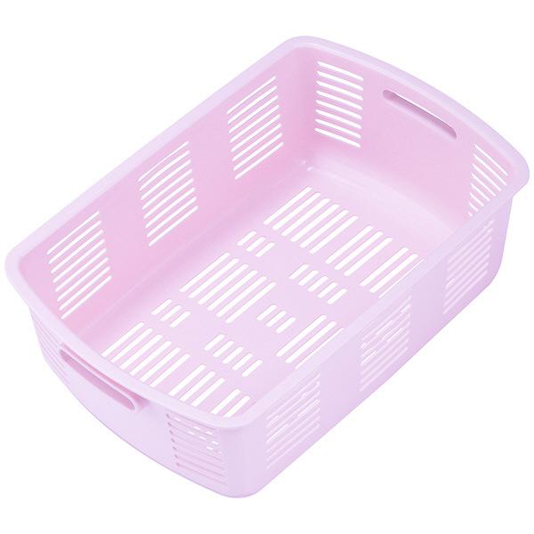 林製作所 脱衣カゴ ピンク