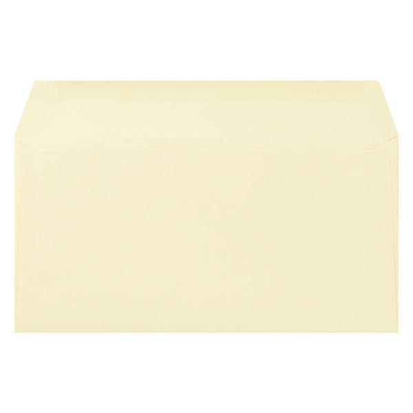 ムトウユニパック ナチュラルカラー封筒 長3横型 クリーム 500枚(100枚×5袋)