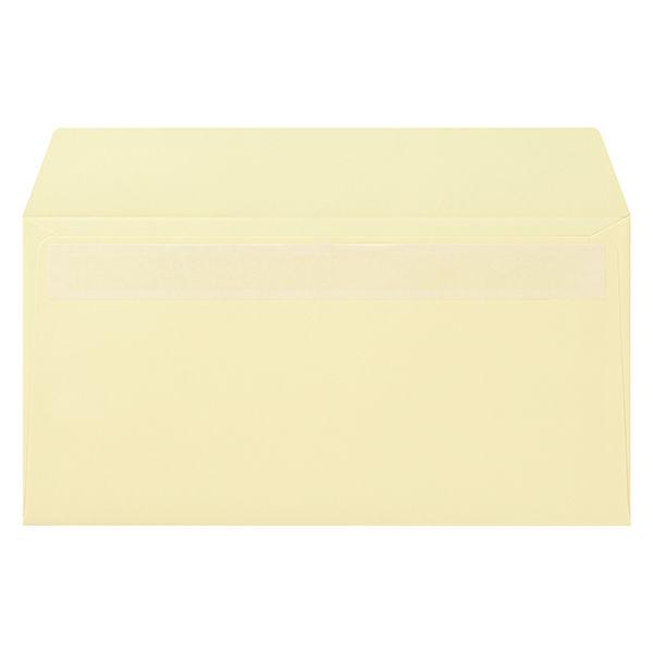 ムトウユニパック ナチュラルカラー封筒 長3横型 クリーム テープ付 300枚(100枚×3袋)