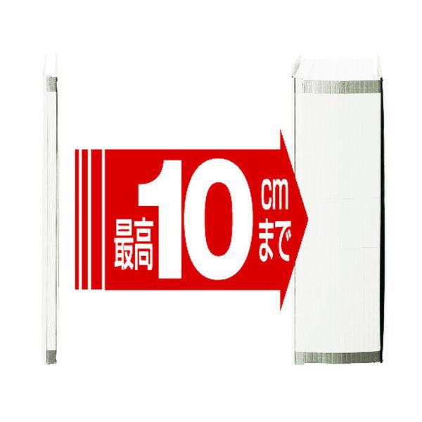 セキセイ のびーるファイル エスヤード A4タテ ホワイト 100冊 AE-50F-71