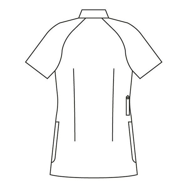 ミズノ ユナイト ケーシージャケット(女性用) ネイビー 5L MZ0048 医療白衣 ナースジャケット 1枚 (取寄品)