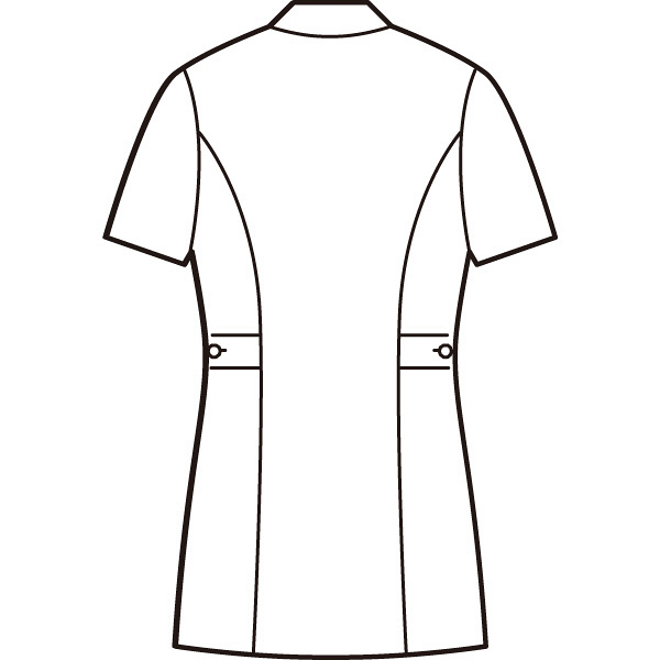 AITOZ(アイトス) ナースジャケット(パイピング) 女性用 半袖 ピンク LL 861338-060