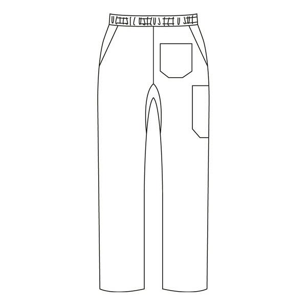 ミズノ ユナイト ニットスクラブパンツ(男女兼用) ネイビー LL MZ-0085 医療白衣 1枚 (取寄品)