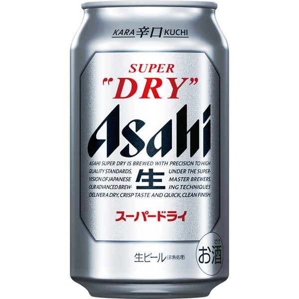アサヒスーパードライ 350ml 24缶