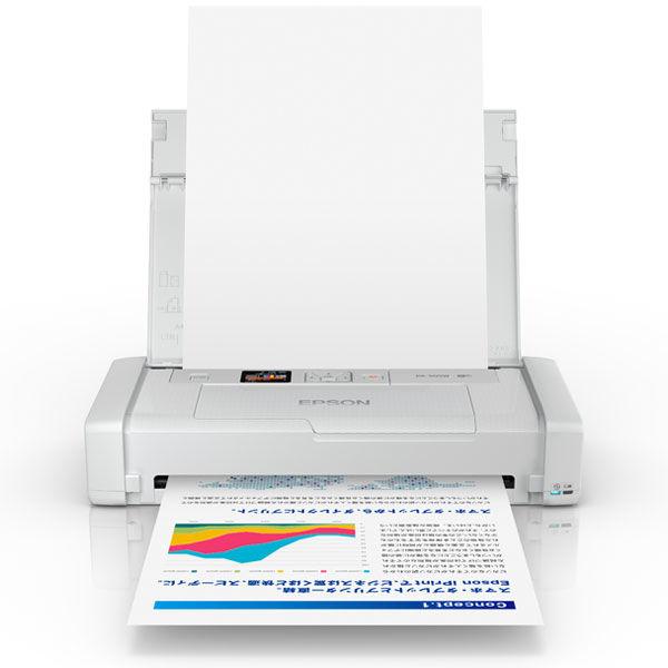 セイコーエプソン モバイルインクジェットプリンター PX-S05W(ホワイト)