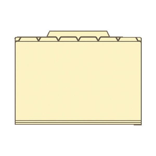 セキセイ 6インデックスフォルダ A4 ピンク ACT-906-21 1袋(3冊入) (直送品)