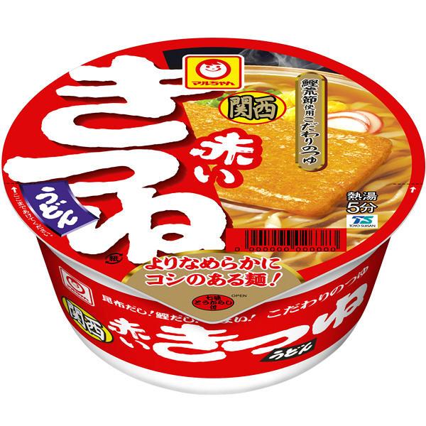 東洋水産 赤いきつねうどん 関西 3食