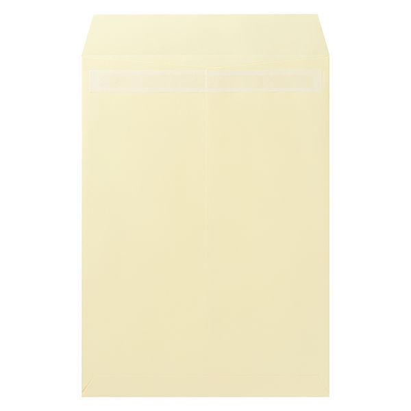 ムトウユニパック ナチュラルカラー封筒 角2(A4) クリーム テープ付 300枚(100枚×3袋)