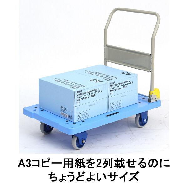 「現場のチカラ」 樹脂台車 静音タイプ 300kg荷重 金沢車輌