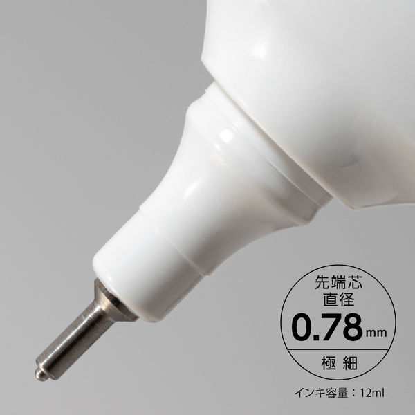 ぺんてる 修正液 細先端 ZL31-WK 1セット(5本)