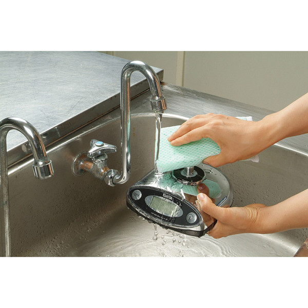 タニタ(TANITA) 防塵・防水 デジタルはかり 3kg KW-003-CR