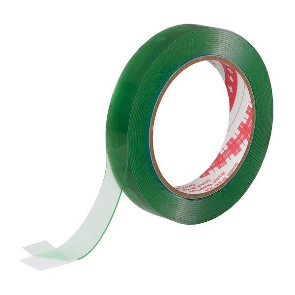 3M スコッチ(R) 超強力両面テープ 透明素材用 1.0mm厚 幅19mm×4m巻 透明 STD-19 1セット(5巻:1巻×5) スリーエム ジャパン