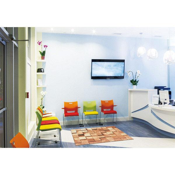 オフィス向けデザインマット ブロック 145 x 200 cm AX00045 クリーンテックス・ジャパン (直送品)