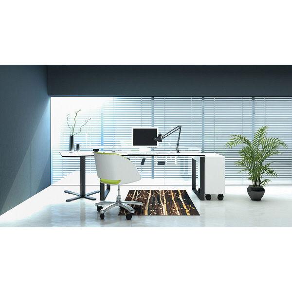 オフィス向けデザインマット バーチ 145 x 200 cm AX00135 クリーンテックス・ジャパン (直送品)